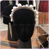 GIVENCHY Blended Fabrics Party Style With Jewels Elegant Style