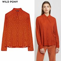 WILD PONY Casual Style Shirts & Blouses
