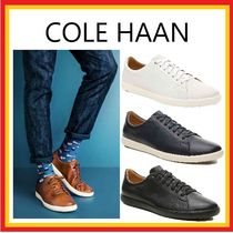 Cole Haan Plain Leather Sneakers