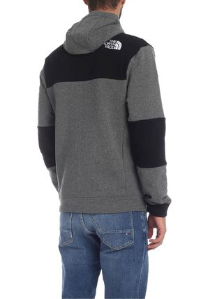 THE NORTH FACE Hoodies Blended Fabrics Street Style Bi-color Long Sleeves Cotton 3