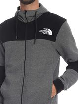 THE NORTH FACE Hoodies Blended Fabrics Street Style Bi-color Long Sleeves Cotton 4