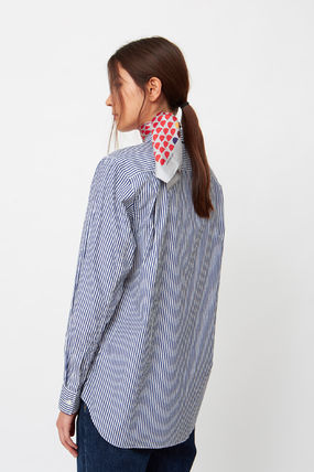 COMME des GARCONS Shirts & Blouses Stripes Heart Unisex Street Style Long Sleeves Cotton 8