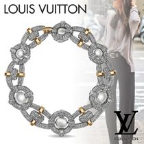 Louis Vuitton Blended Fabrics Party Style With Jewels Elegant Style