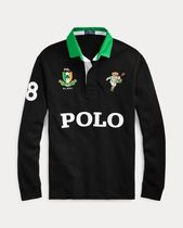 Ralph Lauren Street Style Long Sleeves Other Animal Patterns Cotton Polos