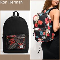 Ron Herman Flower Patterns Casual Style Unisex Nylon Street Style A4