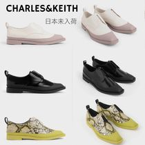 Charles&Keith Casual Style Faux Fur Plain Office Style Python