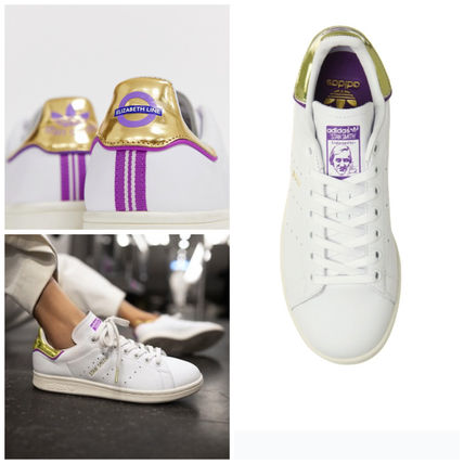 Street Style Collaboration Plain Low-Top Sneakers