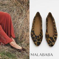 Malababa Leopard Patterns Elegant Style Pumps & Mules