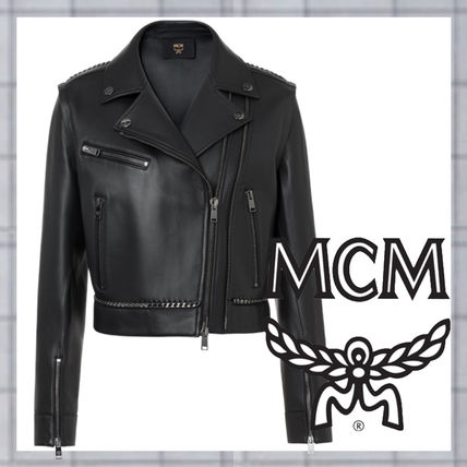 Leather Medium Jackets