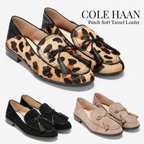 Cole Haan Casual Style Suede Tassel Plain Other Animal Patterns