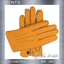 DENTS Plain Leather Handmade Leather & Faux Leather Gloves