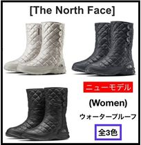 THE NORTH FACE Mountain Boots Round Toe Casual Style Street Style Plain