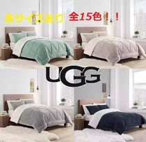UGG Australia Blended Fabrics Plain Comforter Covers Duvet Covers