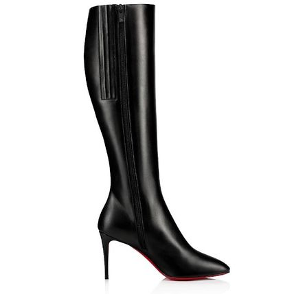 official site online here promo codes Christian Louboutin Eloise 2019-20AW Plain Leather Boots Boots (3190829BK01)