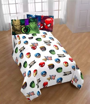 Unisex Collaboration Pillowcases Fitted Sheets Characters