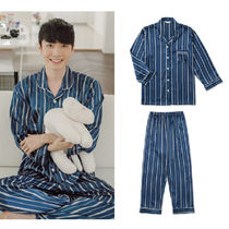 EVENIE Stripes Unisex Lounge & Sleepwear