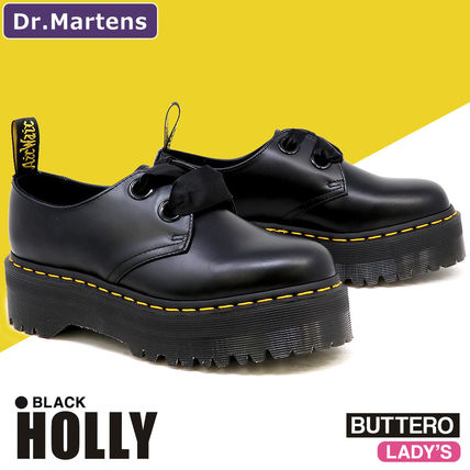 Dr Martens HOLLY Casual Style Leather Loafer & Moccasin Shoes