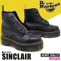 Dr Martens SINCLAIR Rubber Sole Street Style Leather Boots Boots