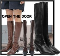 OPEN THE DOOR Casual Style Boots Boots
