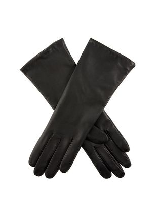 DENTS Cashmere Plain Leather Leather & Faux Leather Gloves