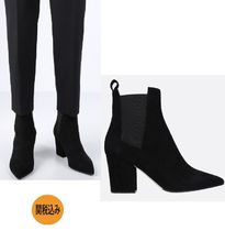 Sergio Rossi Leather Elegant Style Ankle & Booties Boots