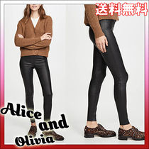 Alice+Olivia Casual Style Plain Office Style Skinny Pants