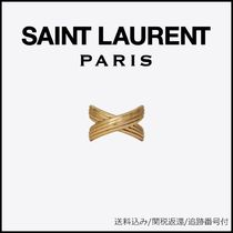 Saint Laurent Casual Style Unisex Party Style Brass Office Style