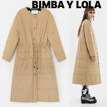 bimba & lola Casual Style Plain Long Coats