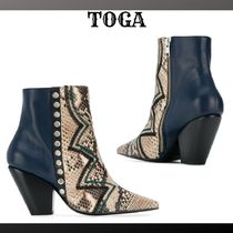 TOGA Casual Style Ankle & Booties Boots