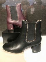 Coach Leather Boots Boots