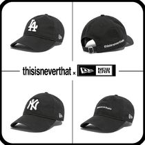 thisisneverthat Unisex Street Style Collaboration Caps