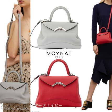 Casual Style Calfskin 2WAY Elegant Style Formal Style  Bags