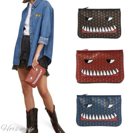 Casual Style Party Style Clutches