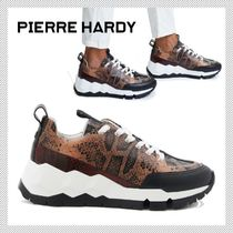 Pierre Hardy Casual Style Python Low-Top Sneakers
