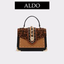 ALDO Casual Style Faux Fur 2WAY Party Style Office Style