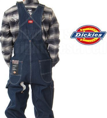 Unisex Street Style Overalls Jeans