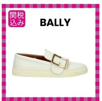 BALLY Leather Slip-On Shoes
