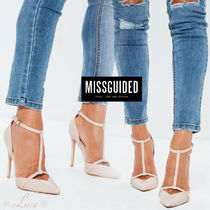 Missguided Pin Heels Elegant Style Pointed Toe Pumps & Mules