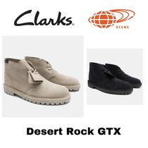 Clarks Unisex Suede Blended Fabrics Street Style Collaboration