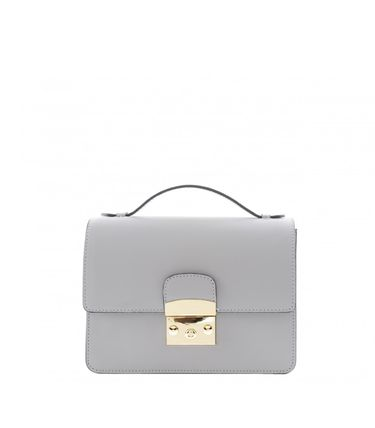 Suede Plain Leather Elegant Style Crossbody Logo