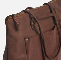 Malababa Casual Style A4 2WAY Leather Office Style Formal Style