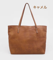 Malababa Casual Style A4 Leather Office Style Elegant Style