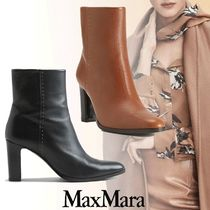 MaxMara Leather Ankle & Booties Boots