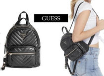 Guess Casual Style Leather Elegant Style Shoulder Bags