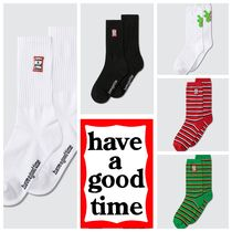 have a good time Street Style Logo Undershirts & Socks