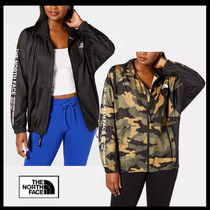 THE NORTH FACE Camouflage Casual Style Street Style Plain Long Office Style