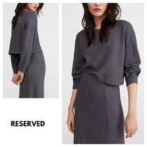RESERVED Long Sleeves Plain Tops