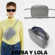 bimba & lola Casual Style Leather Shoulder Bags