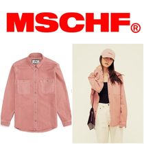 MISCHIEF Street Style Plain Shirts & Blouses