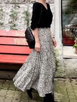 Leopard Patterns Long Maxi Skirts